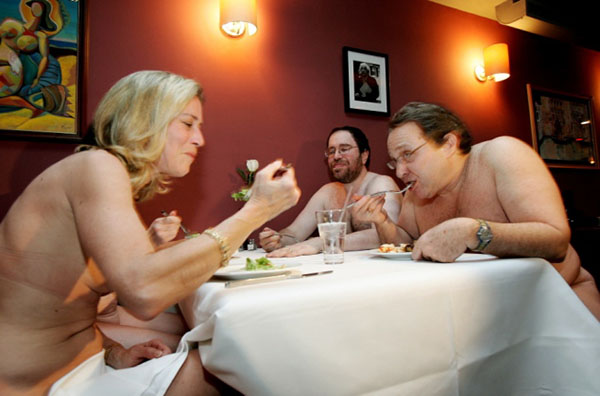 Ресторан Clothing Optional Dinner