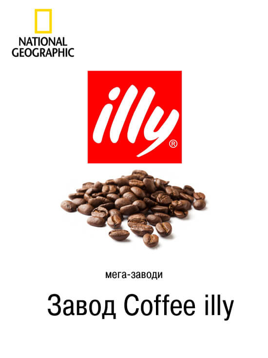 Мега завод Сoffee illy