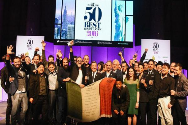 Премія The World's 50 Best Restaurants 2016